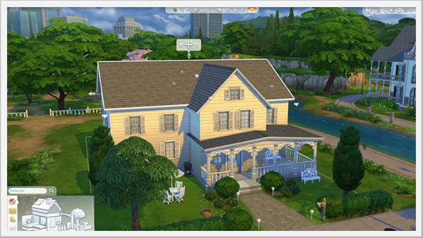 Around the sims 4 custom content download mon avis sur for Simulation maison a construire