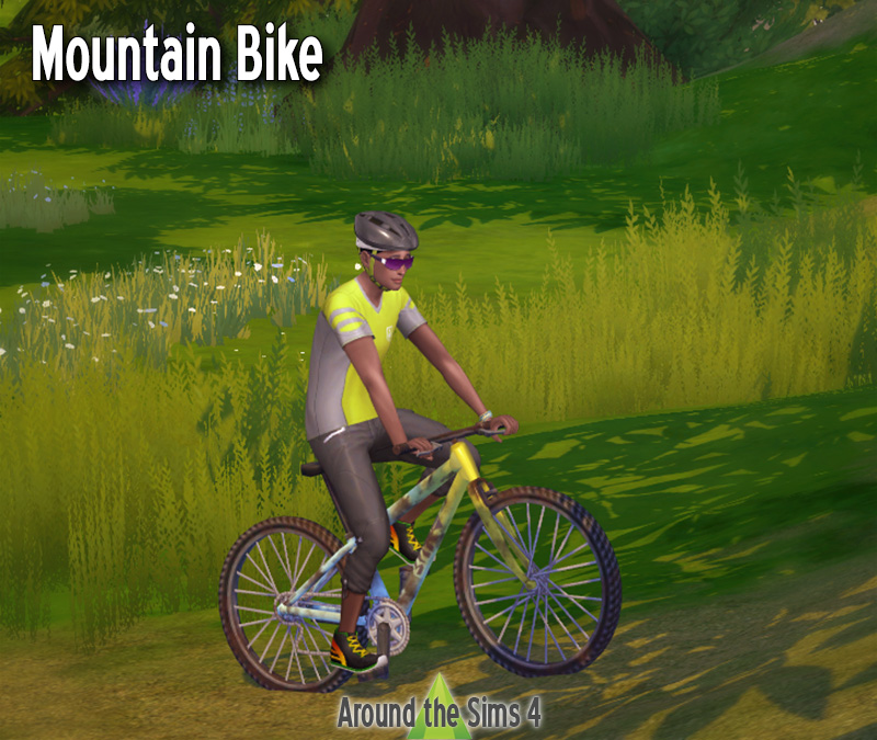 Around the Sims 4 | Custom Content Download | Bikes and bicyles
