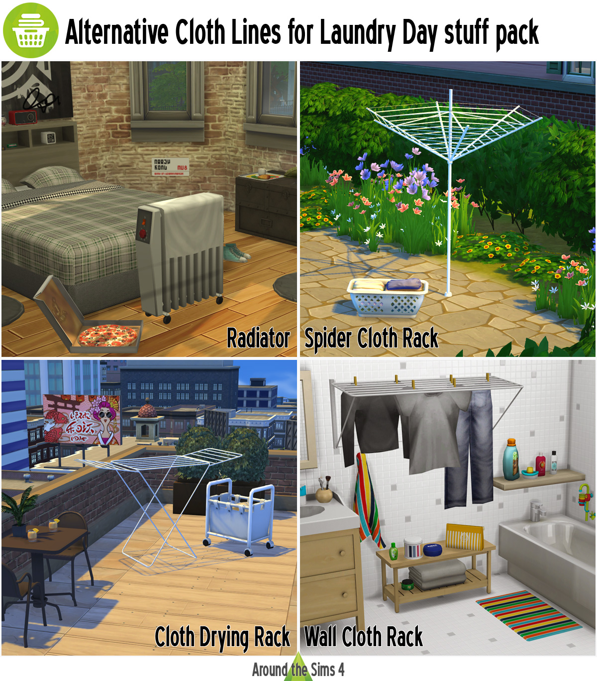 the sims 4 laundry stuff download