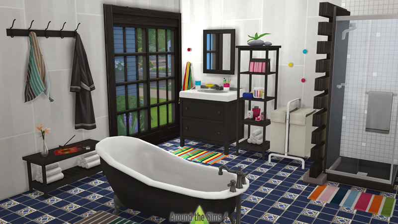 Around the sims 4 custom content download ikea bathroom - Eclairage bibliotheque ikea ...