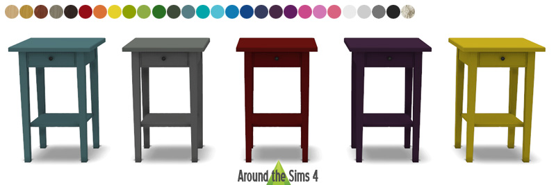 around the sims 4 custom content download objects. Black Bedroom Furniture Sets. Home Design Ideas