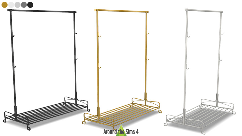how to fix a rack under a table ikea