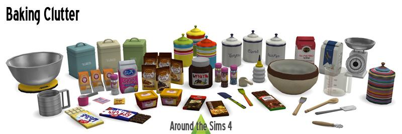 Sims  Slob Kitchen Set