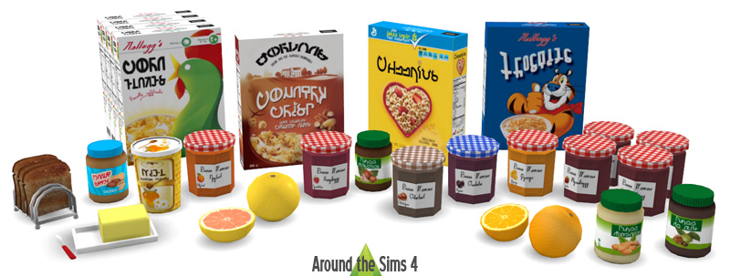 Around The Sims 4 Custom Content Download Breakfast Clutter