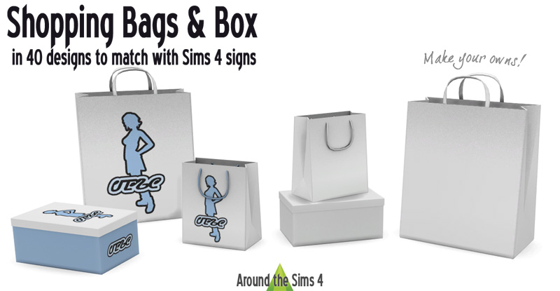 Shopping bags & boxes