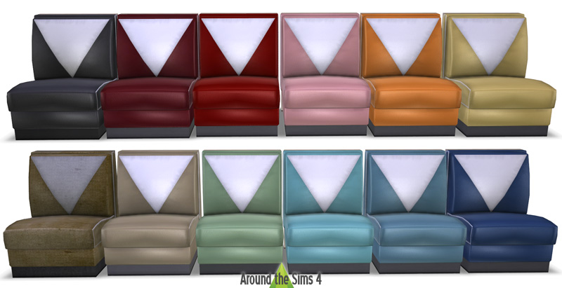 Around the Sims 4  Custom Content Download  Objects  American Diner