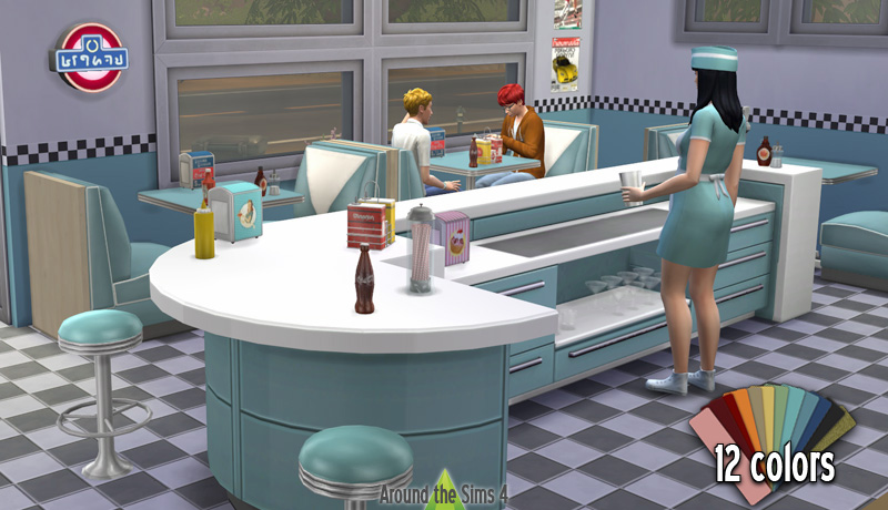 Around the Sims 4 | American diner