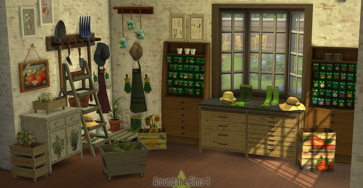 Around The Sims 4 Custom Content Download Old