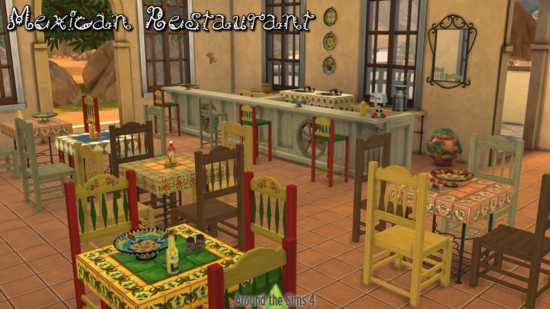 Around the sims custom content download objects