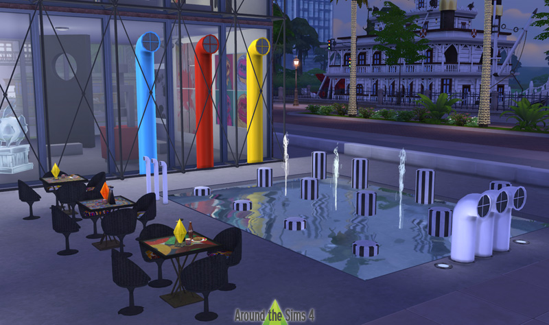 Around the sims 4 custom content download objects modern art museum - The sims 3 case moderne ...