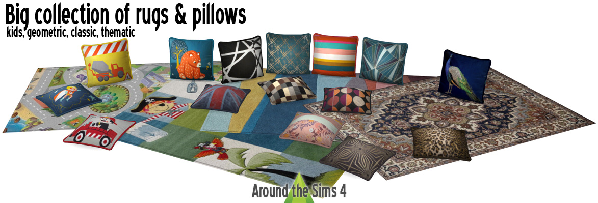 Throw Pillows Sims 4 : Around the Sims 4 Custom Content Download Objects Beers of the World