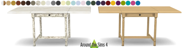 around the sims 4 custom content download ikea foldable chair table. Black Bedroom Furniture Sets. Home Design Ideas