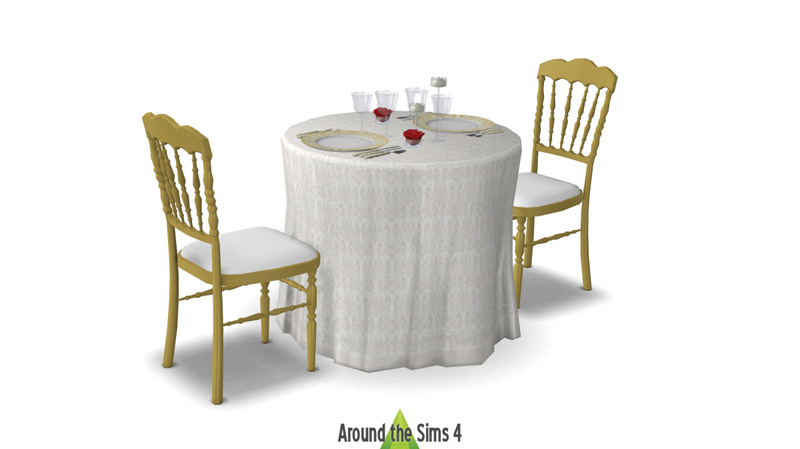 Around The Sims 4 Custom Content Download Table Setting For