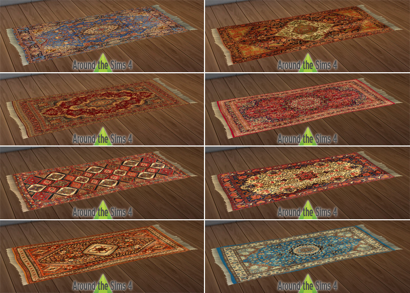 Around the Sims 4 Custom Content Download Objects  : rug from sims4.aroundthesims3.com size 800 x 572 jpeg 279kB