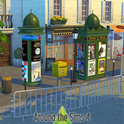 Around the sims 4 custom content download objects for Exterieur sims 4