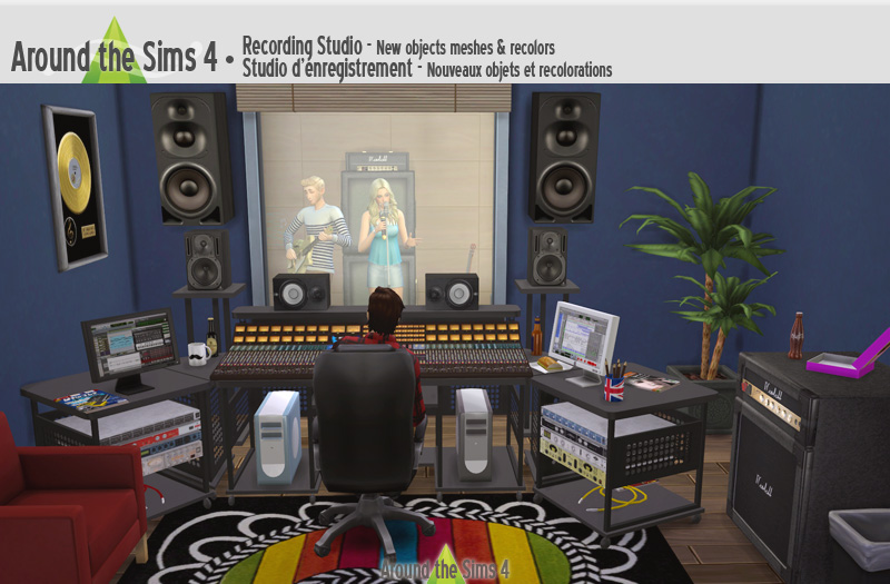Around the Sims 4 | Custom Content Download | Recording