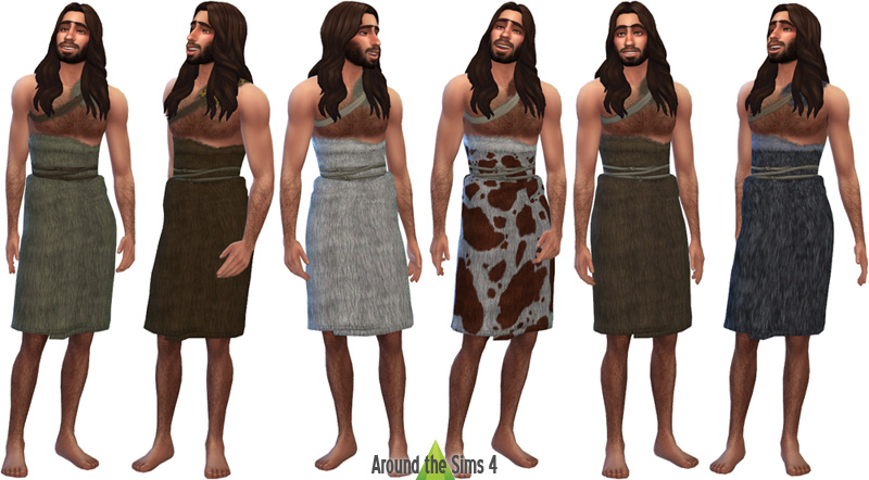 prehistoric clothes