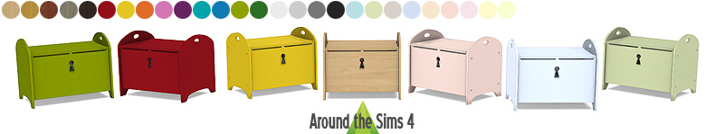 around the sims 4 custom content download objects ikea kid bedroom
