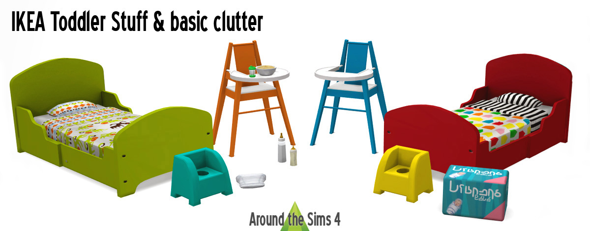 Around the Sims 4 Custom Content Download IKEA Toddler  : prevue01 from sims4.aroundthesims3.com size 1200 x 470 jpeg 128kB