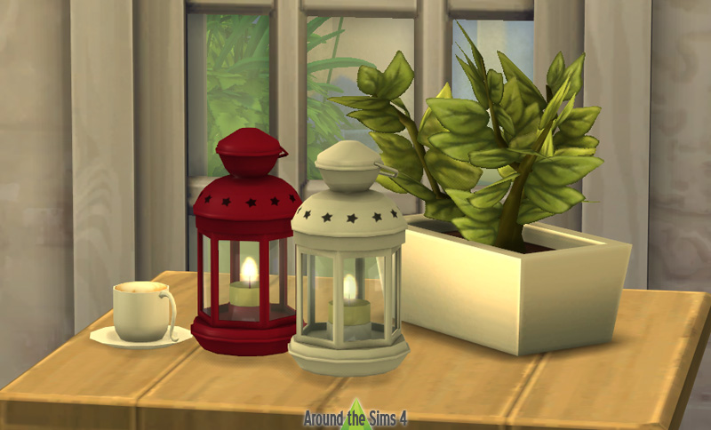 Around The Sims 4 Custom Content Download Objects Ikea Rotera Lantern