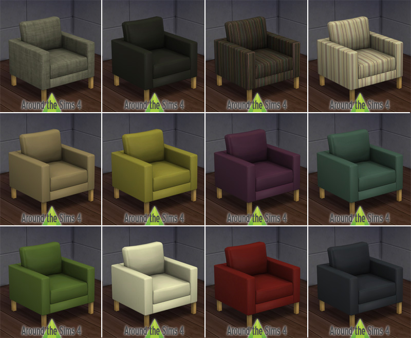 Karlstad Fauteuils Ikea.Around The Sims 4 Custom Content Download Objects Ikea