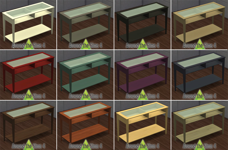 around the sims 4 custom content download objects ikea living room. Black Bedroom Furniture Sets. Home Design Ideas
