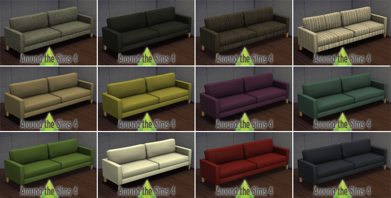 Around the sims 4 custom content download objects for Canape 6 places ikea