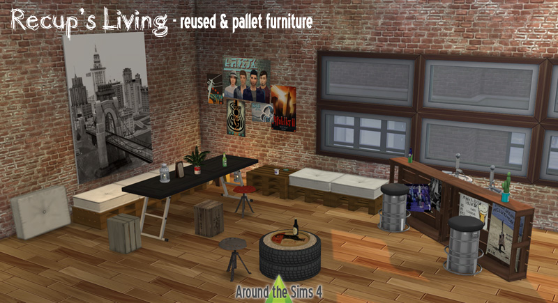 Around The Sims 4 Custom Content Download Recup