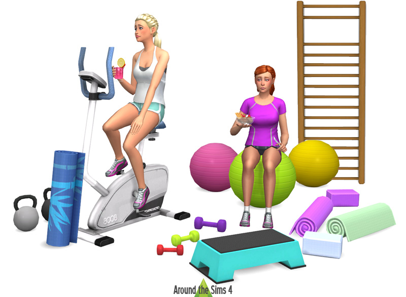 Around the Sims 4 Custom Content Download Sport amp Gym : prevue01 from sims4.aroundthesims3.com size 800 x 587 jpeg 108kB