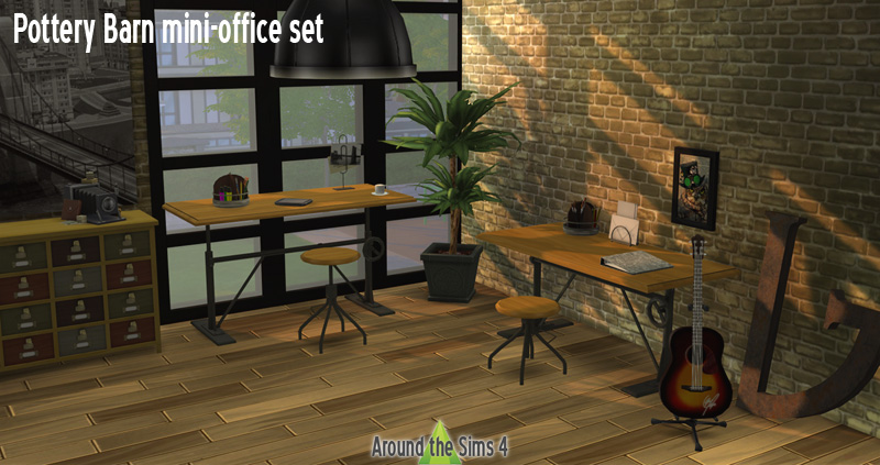 Around The Sims 4 Custom Content Download Pottery Barn