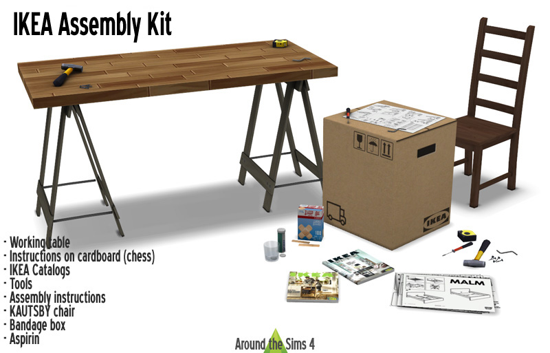 IKEA Assembly Kit Donators Privilege Download The Whole Set In One Click