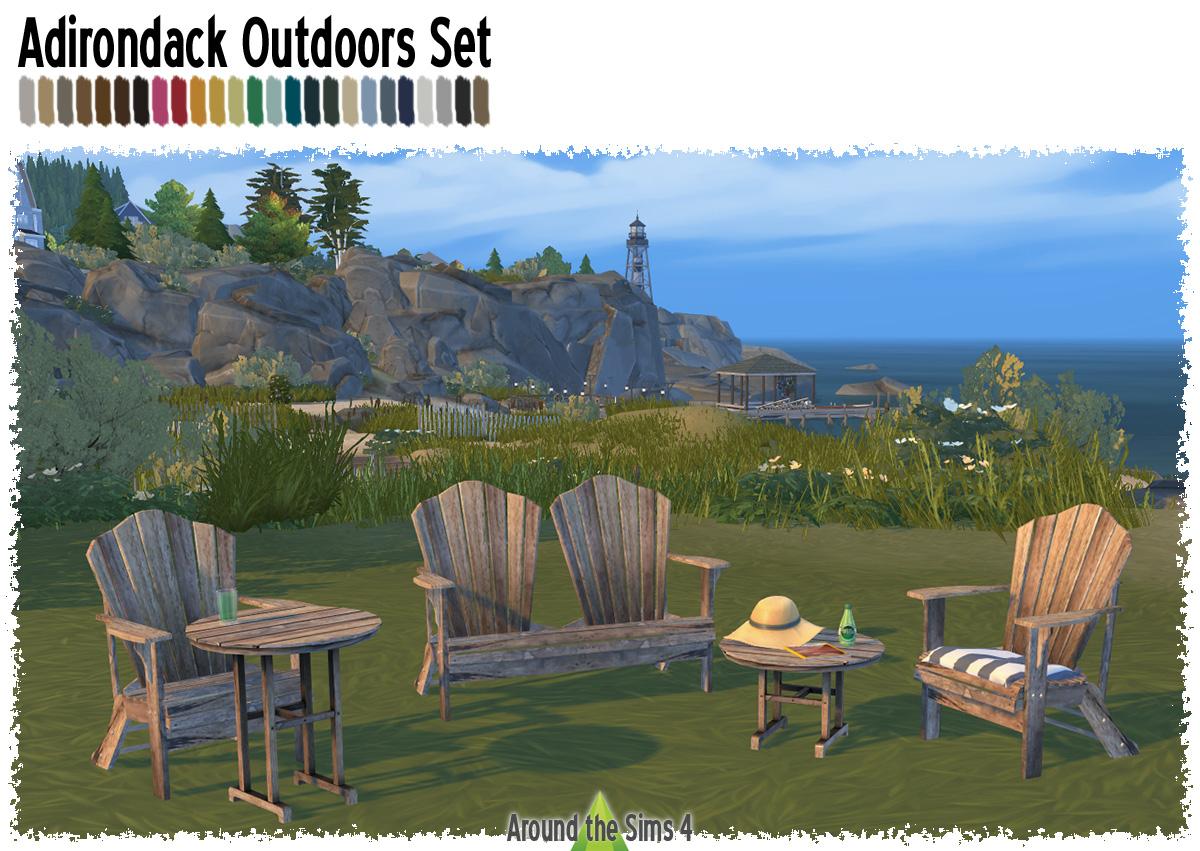 Around the Sims 4   Custom Content Download   Adirondack ...