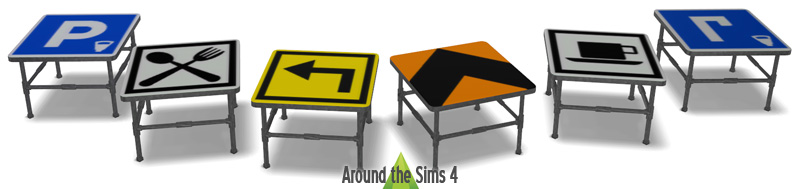 Road Sign Furniture Bronze Brazing Road Sign Furniture Bonfiresco - Road sign furniture