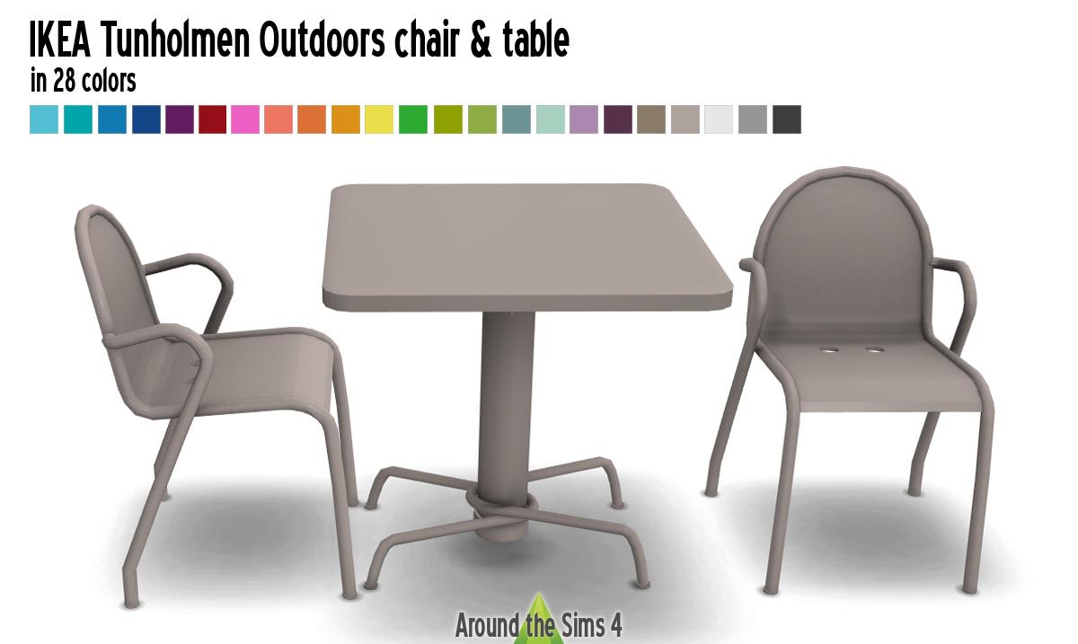 Around the Sims 4 | Custom Content Download | IKEA Tunholmen ...