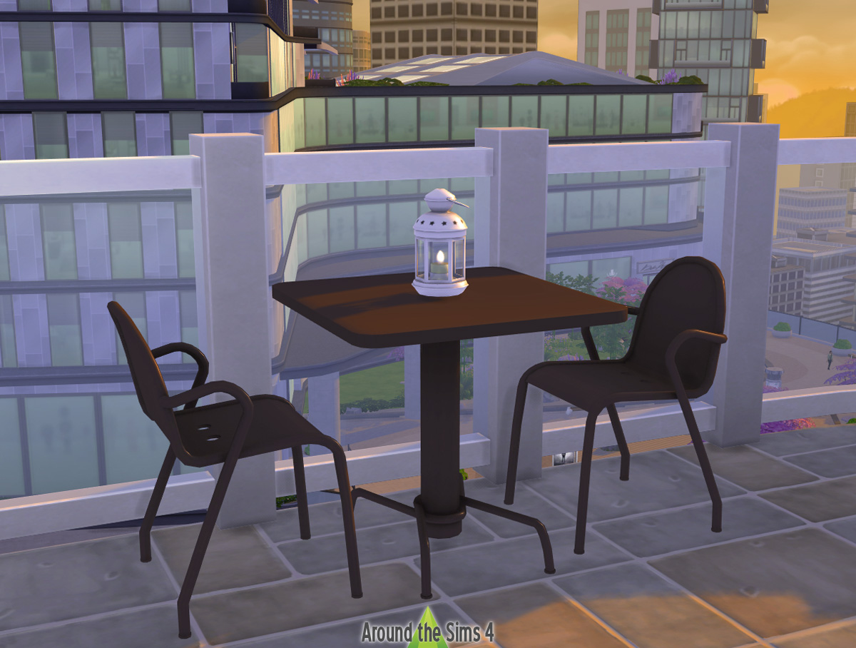 Around The Sims 4 Custom Content Download Ikea Tunholmen Outdoors