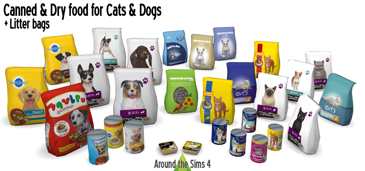 Around The Sims 4 Custom Content Download Pet Food