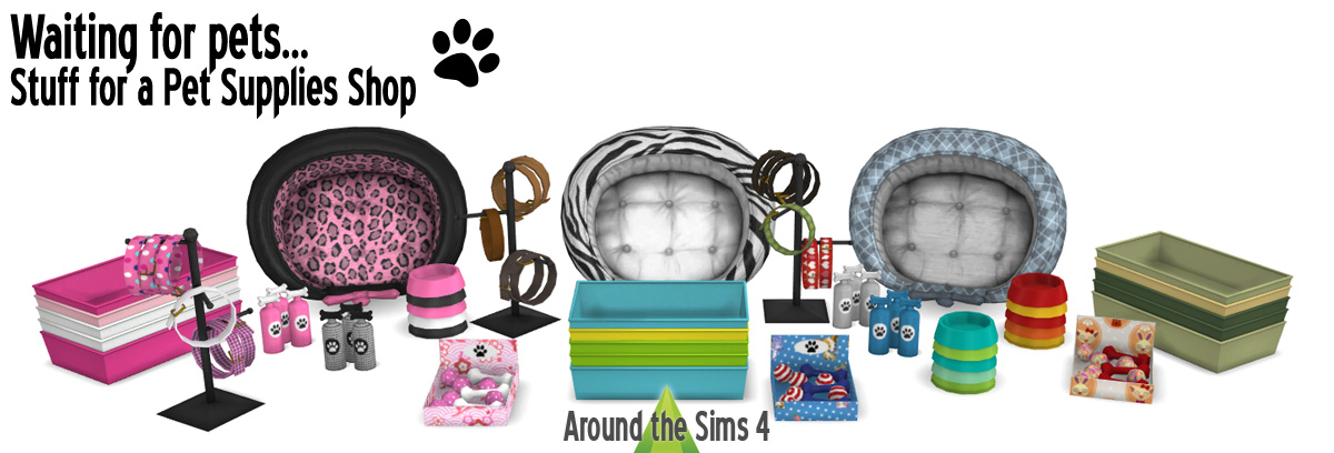 Around The Sims 4 Custom Content Download Pet Supplies