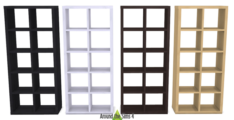 Around the sims 4 custom content download objects ikea expedit kallax - Porte bibliotheque ikea ...